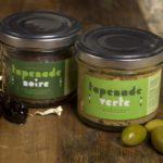 epicerie_nimes_vente_panier-gourmand_france_tapenade-verte-noire-jocelyn-vigouroux