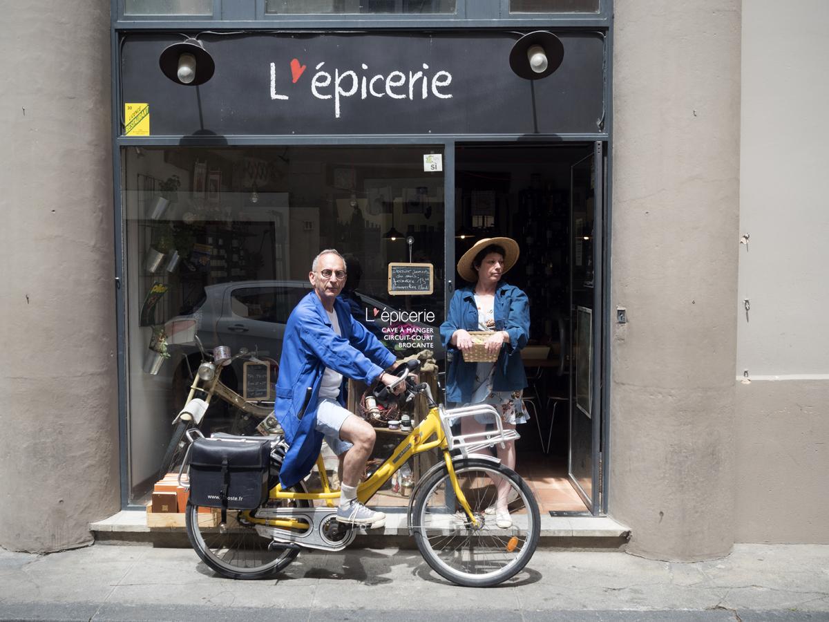 bruno caroline epicerie nimes 14 rue agau vitrine