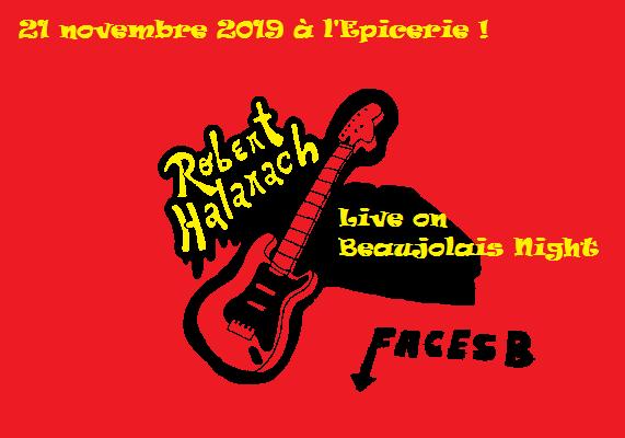 Robert Halarach beaujolais nouveau 2019 epicerie de nimes