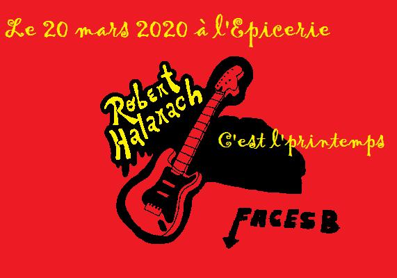 Robert Halarach epicerie nimes20Mars