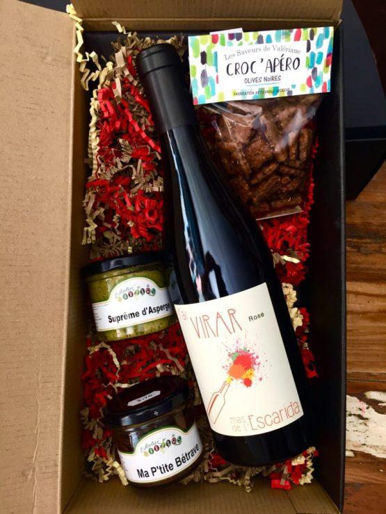 Fai virar vin epicerie nimes apero