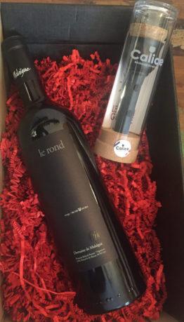 vin-rond-francois-reboul-semaine-epicerie-nimes domaine malaigue