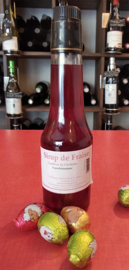 sirop-fraise-ardeche-paque-epicerie-nimes